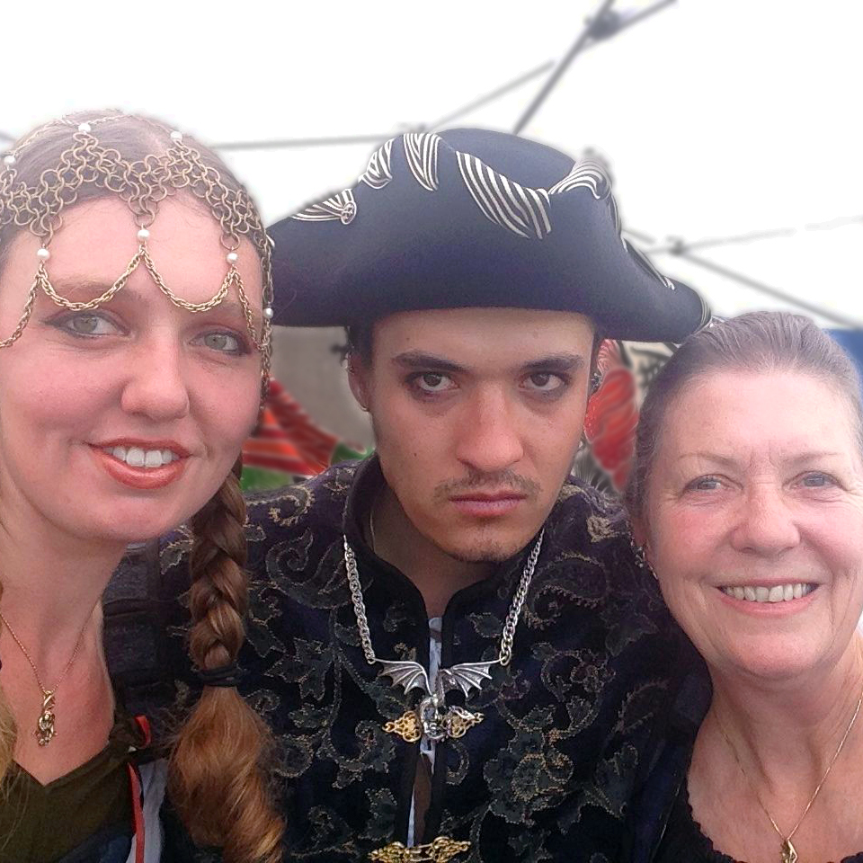 Alisha, Marty, & John at the NorCal Pirate Festival